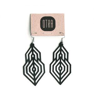 113KM-boucled'oreille-chambreàair-recyclage-upcycling-bijoux-earring