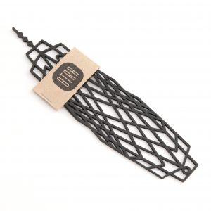 310km-bracelet-caoutchouc-upcycling-noir-design