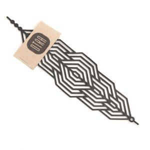 313KM-design-bracelet-caoutchouc-upcycling-chambreàair-noir